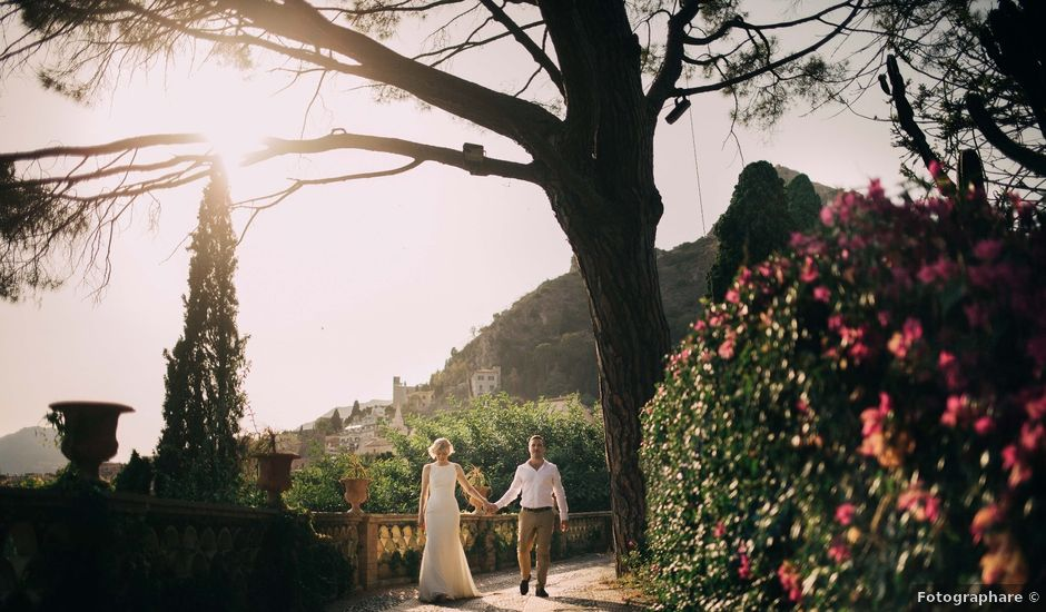 Il matrimonio di Jess e Steve a Taormina, Messina