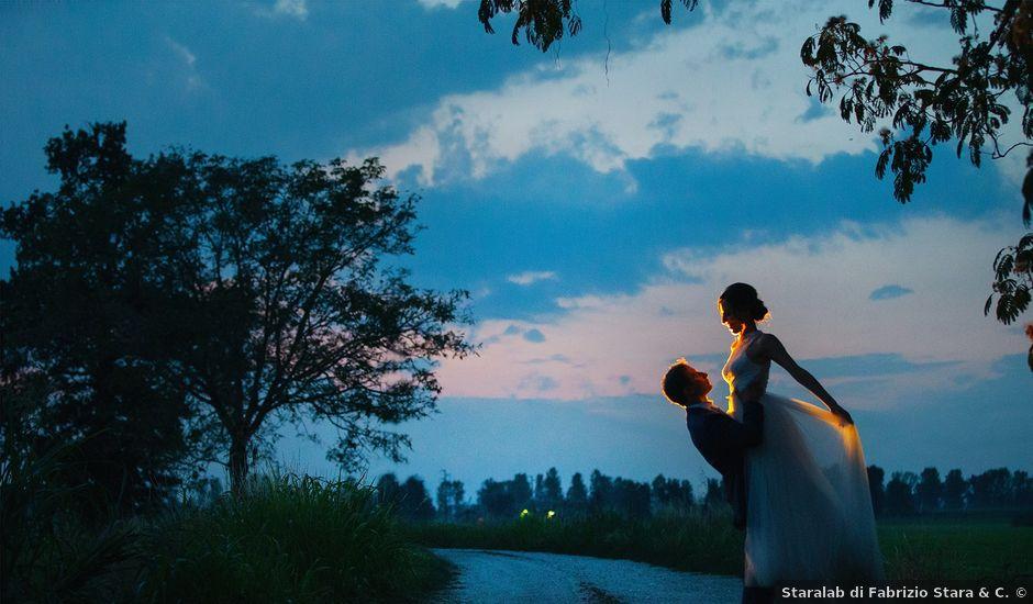 Il matrimonio di Giordano e Erika a Robecco sul Naviglio, Milano
