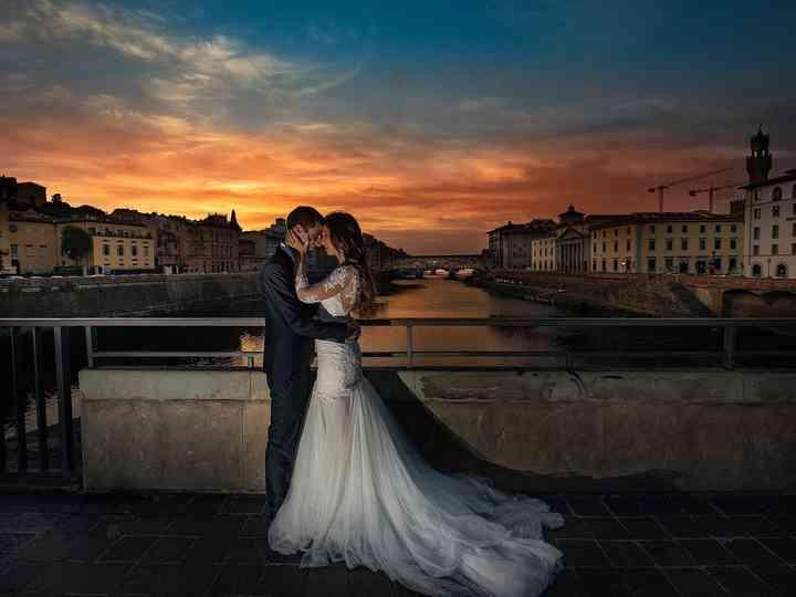 Le nozze di Jessica e Tiziano