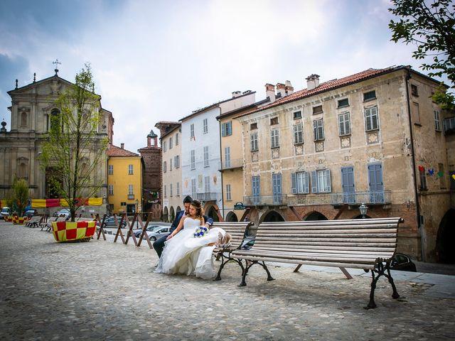 Il matrimonio di Mattia e Chiara a Mondovì, Cuneo 28