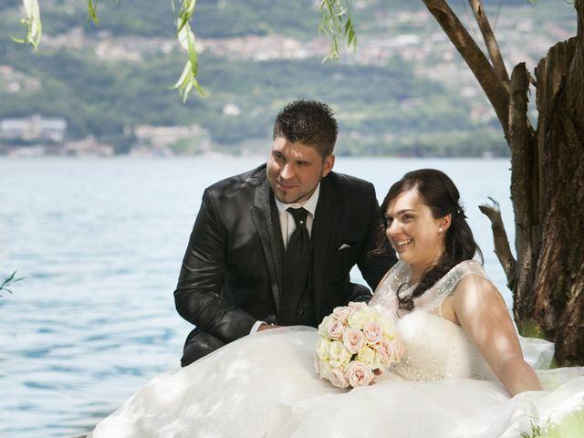le nozze di Romina e Daniel