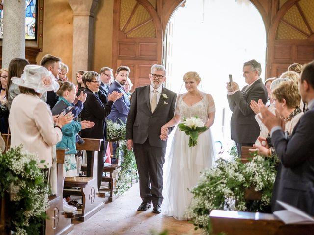 Il matrimonio di Andrea e Rebecca a Besana in Brianza, Monza e Brianza 19