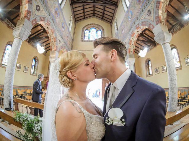 Le nozze di Rebecca e Andrea