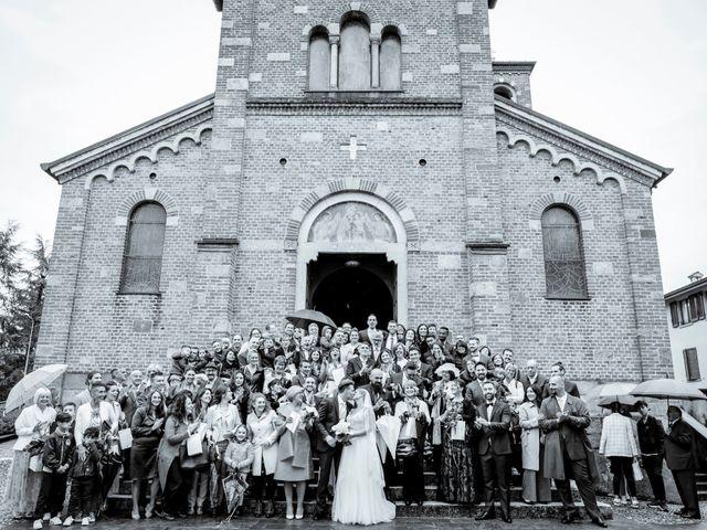 Il matrimonio di Andrea e Rebecca a Besana in Brianza, Monza e Brianza 37