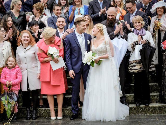 Il matrimonio di Andrea e Rebecca a Besana in Brianza, Monza e Brianza 36