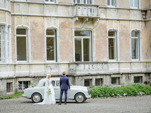 Il matrimonio di Andrea e Rebecca a Besana in Brianza, Monza e Brianza 43