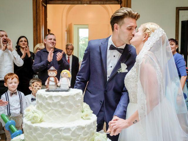 Il matrimonio di Andrea e Rebecca a Besana in Brianza, Monza e Brianza 70