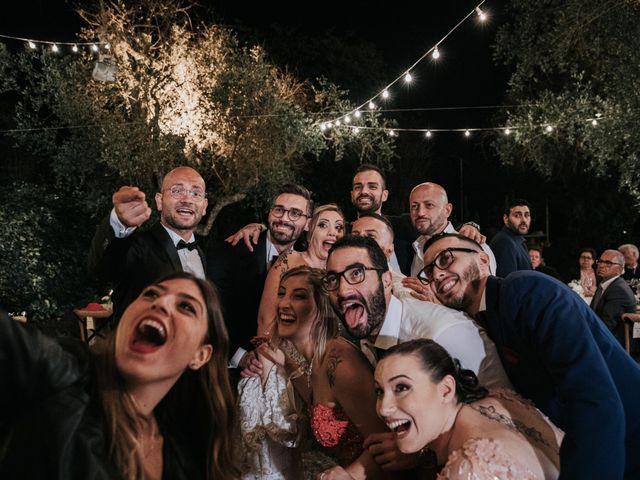 Il matrimonio di Alessandro e Serena a Racale, Lecce 93