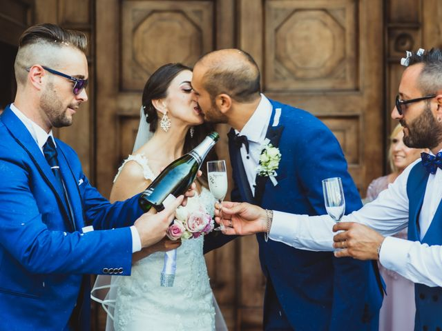 Il matrimonio di Giuseppe e Lucia a Vergiate, Varese 35