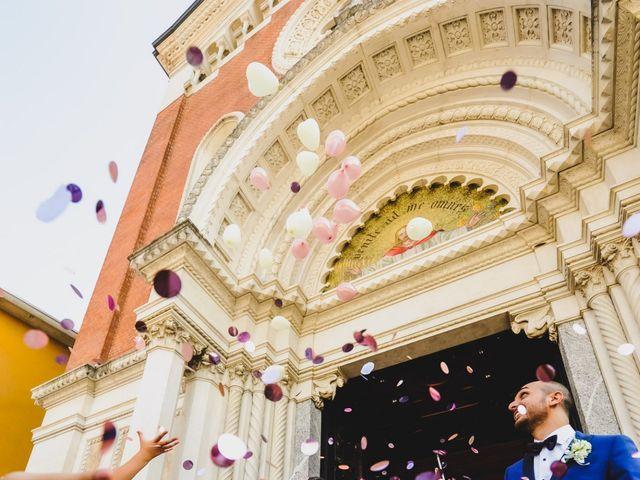 Il matrimonio di Giuseppe e Lucia a Vergiate, Varese 37