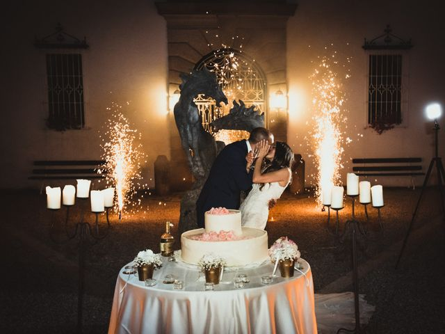 Il matrimonio di Giuseppe e Lucia a Vergiate, Varese 80