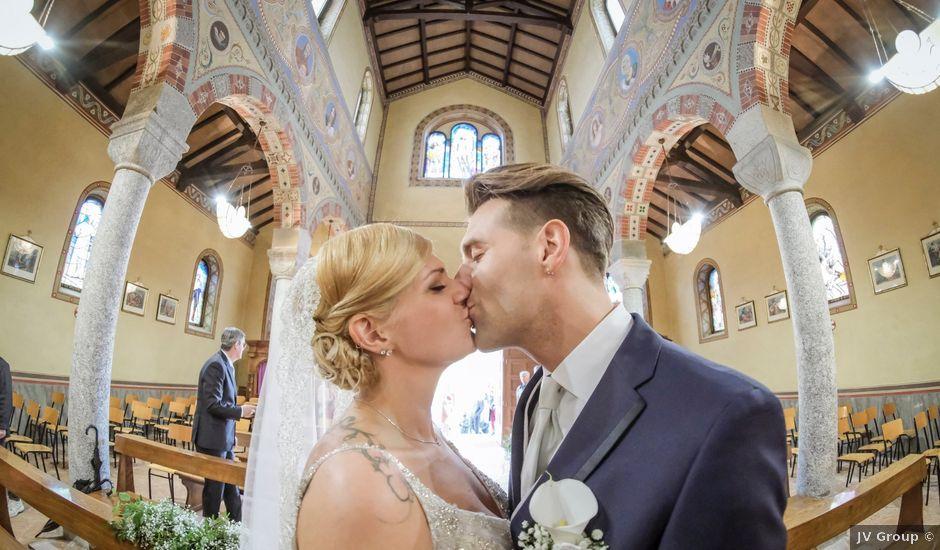 Il matrimonio di Andrea e Rebecca a Besana in Brianza, Monza e Brianza