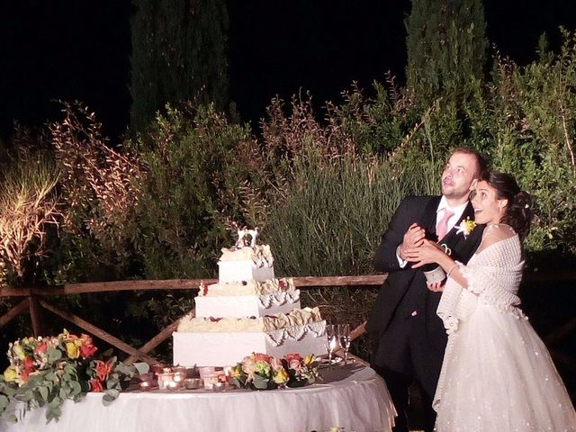 Il matrimonio di Chiara e Samuele a Sinalunga, Siena 14