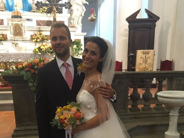 Il matrimonio di Chiara e Samuele a Sinalunga, Siena 15