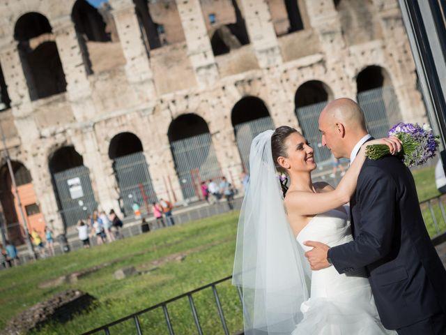 Il matrimonio di Marcello e Antonella a Roma, Roma 27