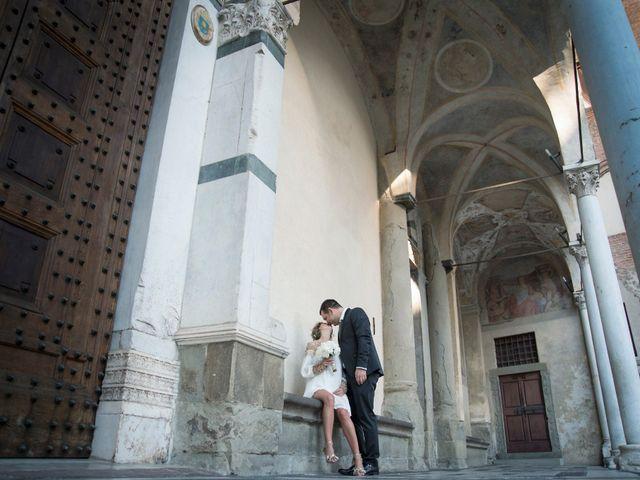 Le nozze di Viktoria e Francesco