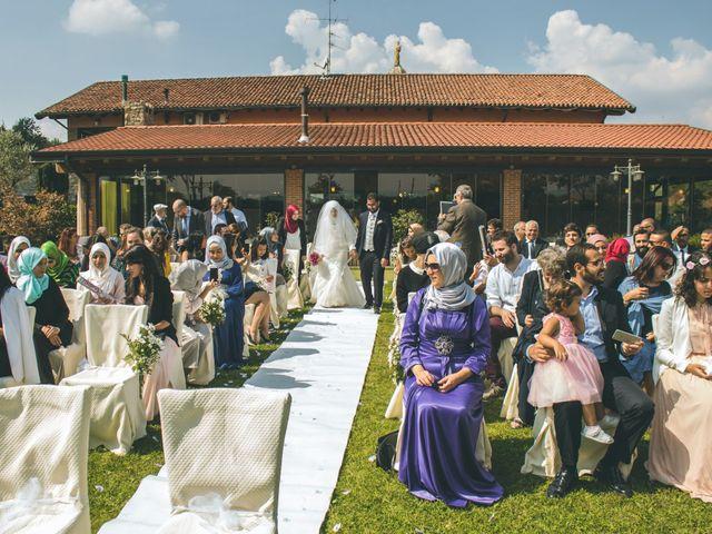 Il matrimonio di Omar e Amina a Albano Sant'Alessandro, Bergamo 26