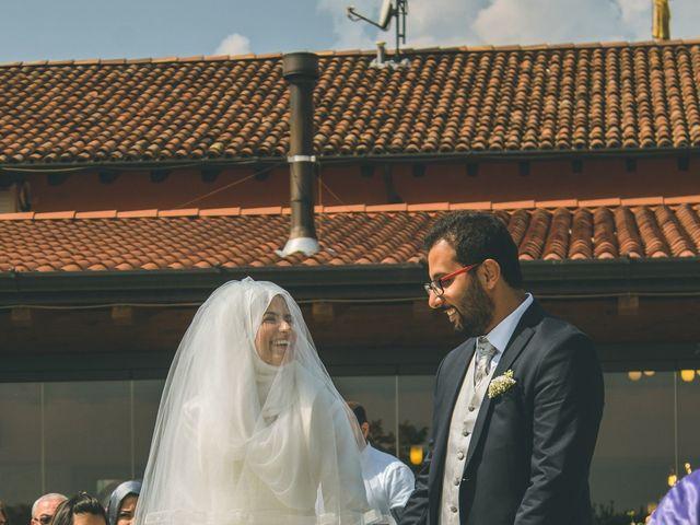 Il matrimonio di Omar e Amina a Albano Sant'Alessandro, Bergamo 27