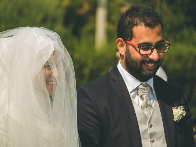 Il matrimonio di Omar e Amina a Albano Sant'Alessandro, Bergamo 28
