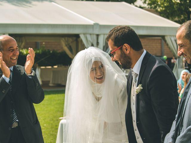 Il matrimonio di Omar e Amina a Albano Sant'Alessandro, Bergamo 29
