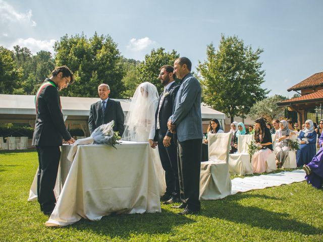 Il matrimonio di Omar e Amina a Albano Sant'Alessandro, Bergamo 30