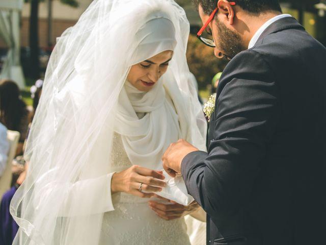 Il matrimonio di Omar e Amina a Albano Sant'Alessandro, Bergamo 31