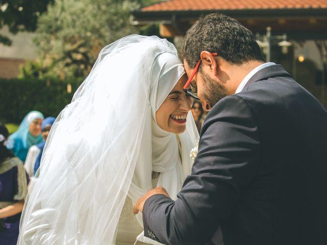 Il matrimonio di Omar e Amina a Albano Sant'Alessandro, Bergamo 33