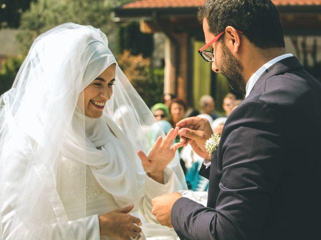 Il matrimonio di Omar e Amina a Albano Sant'Alessandro, Bergamo 35