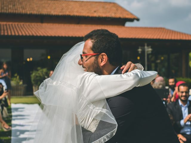 Il matrimonio di Omar e Amina a Albano Sant'Alessandro, Bergamo 36