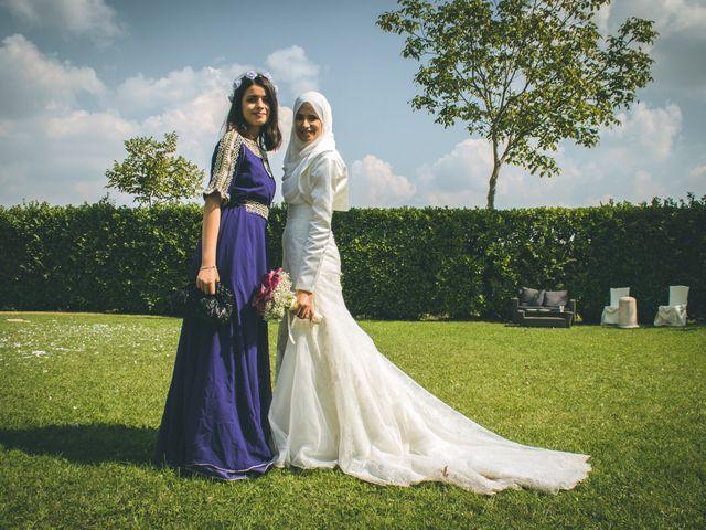 Il matrimonio di Omar e Amina a Albano Sant'Alessandro, Bergamo 53