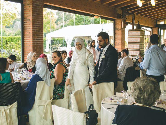 Il matrimonio di Omar e Amina a Albano Sant'Alessandro, Bergamo 56