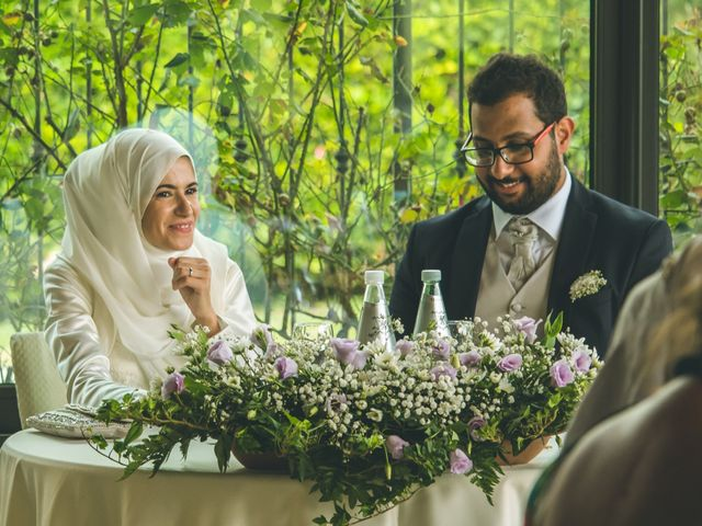 Il matrimonio di Omar e Amina a Albano Sant'Alessandro, Bergamo 57