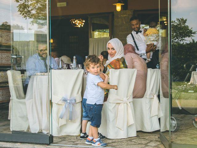 Il matrimonio di Omar e Amina a Albano Sant'Alessandro, Bergamo 59