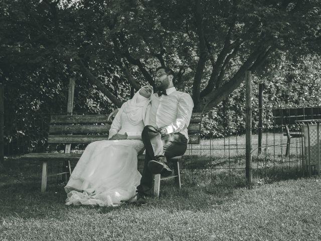Il matrimonio di Omar e Amina a Albano Sant'Alessandro, Bergamo 65