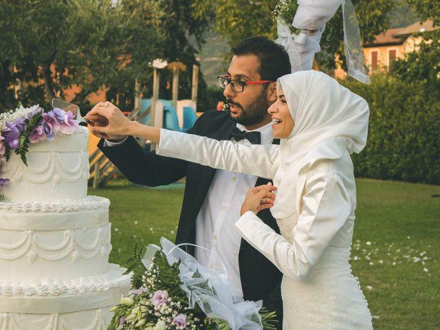 Il matrimonio di Omar e Amina a Albano Sant'Alessandro, Bergamo 73