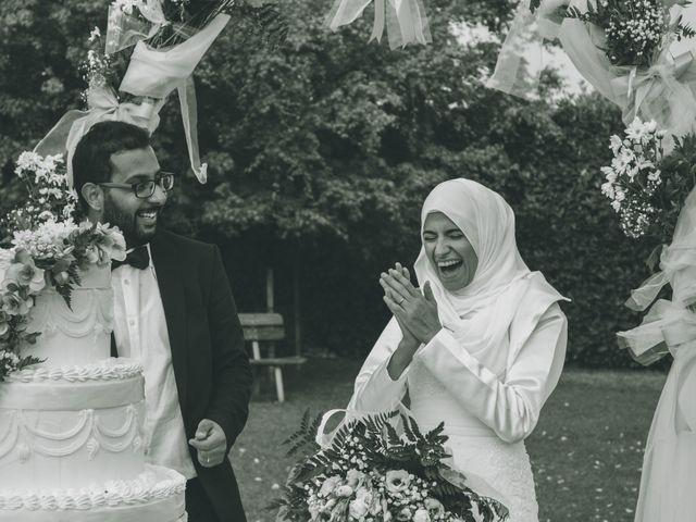 Il matrimonio di Omar e Amina a Albano Sant'Alessandro, Bergamo 76