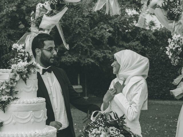 Il matrimonio di Omar e Amina a Albano Sant'Alessandro, Bergamo 77