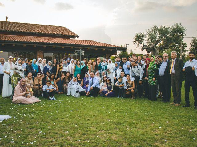 Il matrimonio di Omar e Amina a Albano Sant'Alessandro, Bergamo 79
