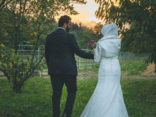 Il matrimonio di Omar e Amina a Albano Sant'Alessandro, Bergamo 81