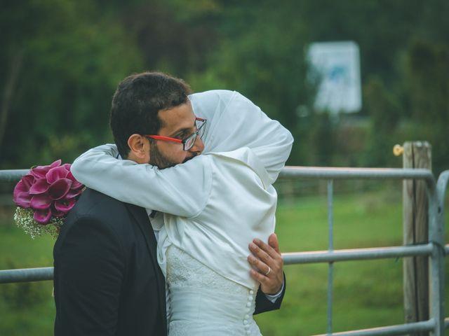 Il matrimonio di Omar e Amina a Albano Sant'Alessandro, Bergamo 87