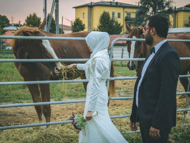 Il matrimonio di Omar e Amina a Albano Sant'Alessandro, Bergamo 92