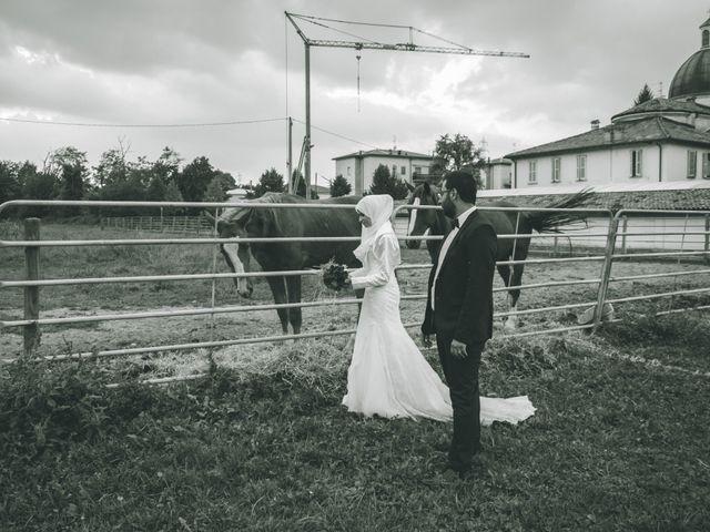 Il matrimonio di Omar e Amina a Albano Sant'Alessandro, Bergamo 93