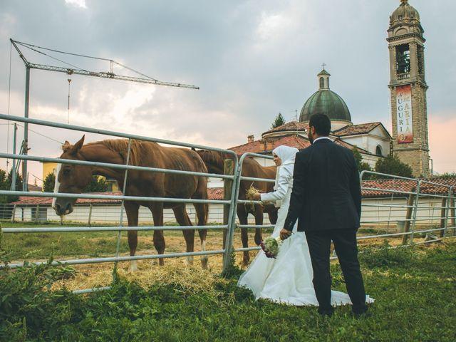 Il matrimonio di Omar e Amina a Albano Sant'Alessandro, Bergamo 94