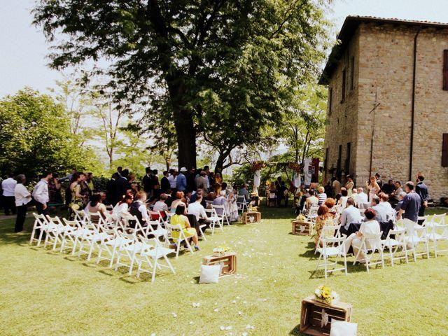 Il matrimonio di Gianluca e Katia a Fortunago, Pavia 8
