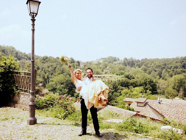 Il matrimonio di Gianluca e Katia a Fortunago, Pavia 14