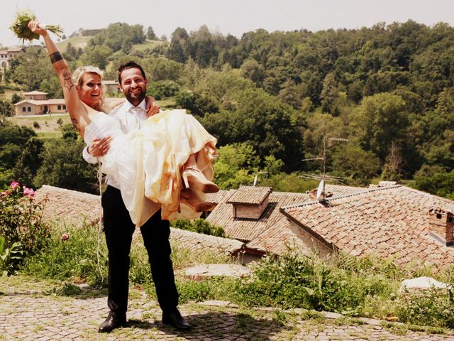 Il matrimonio di Gianluca e Katia a Fortunago, Pavia 39