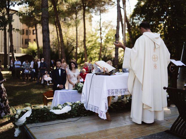 Il matrimonio di Vincenzo e Jasmine a Pisa, Pisa 41