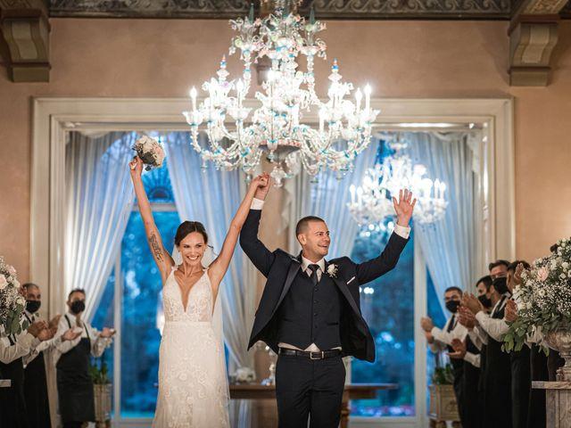 Il matrimonio di Silvia e Daniele a Monza, Monza e Brianza 57