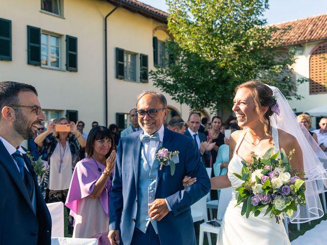 Il matrimonio di Fabio e Beatrice a Costigliole d'Asti, Asti 10