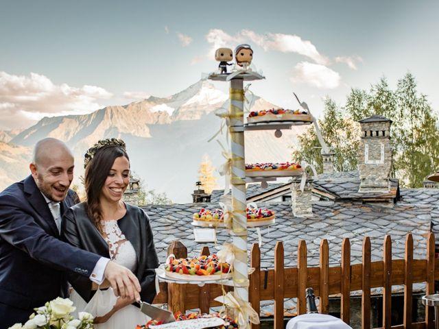 Il matrimonio di Alberto e Valeria a Saint-Pierre, Aosta 17
